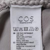 Cos Pullover mit Seiden-Einsatz