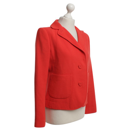 Carven Blazer in red