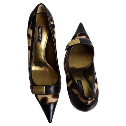 Dolce & Gabbana Pumps mit Leopardenmuster