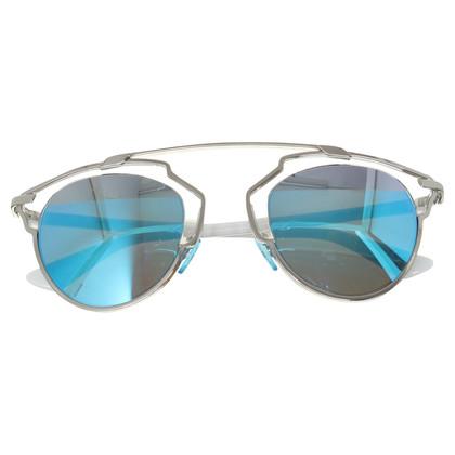 """Christian Dior Sonnenbrille """"So Real"""" in Blau-Grau"""