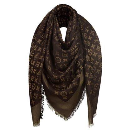 Louis Vuitton Monogram shine cloth in brown