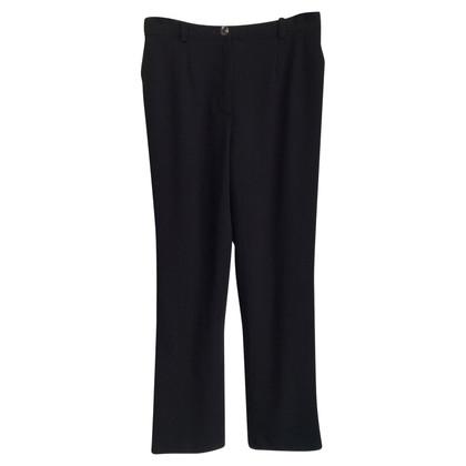 Chanel Pantaloni di lana nero