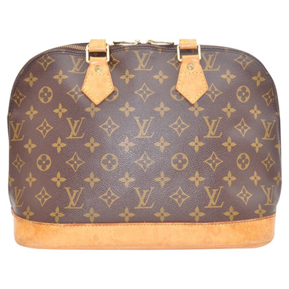 "Louis Vuitton ""Alma MM Monogram Canvas"""