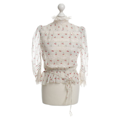 Marc by Marc Jacobs Blouse met patronen