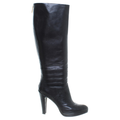 Other Designer L.K. Bennett - black leather boot.