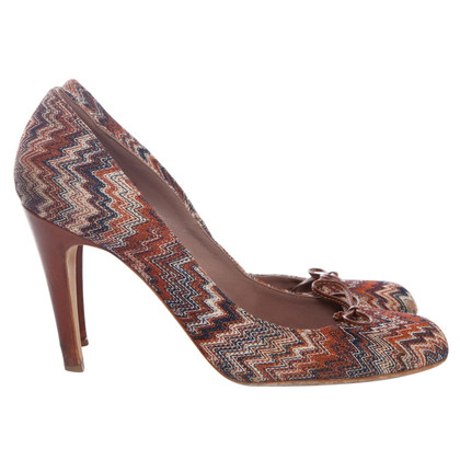 Missoni multicolore pumps