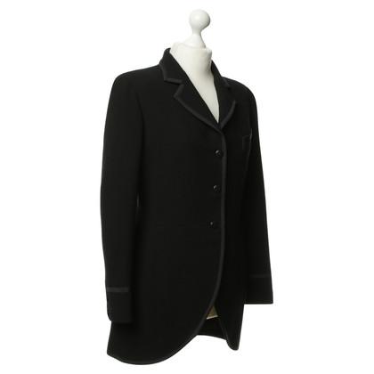 Chanel Long Blazer in black