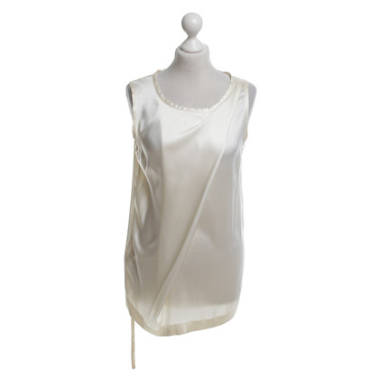 Ann Demeulemeester Silk top in beige
