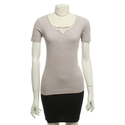 Fabiana Filippi T-Shirt in Nude / grey