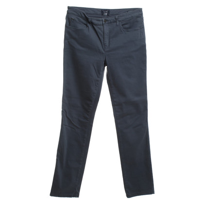 Armani Jeans trousers in blue-grey