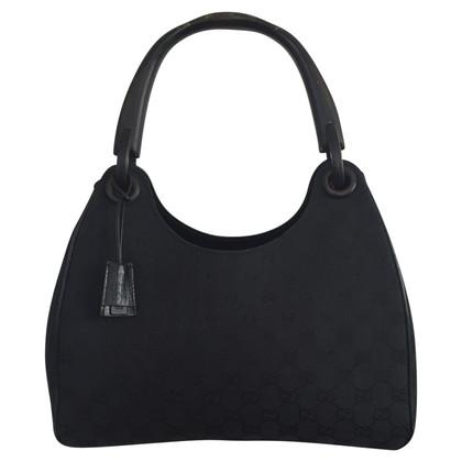 Gucci Handbag with wooden handles