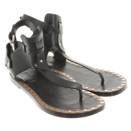 Isabel Marant Lederen sandalen