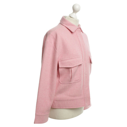 Ganni Jacket in Pink