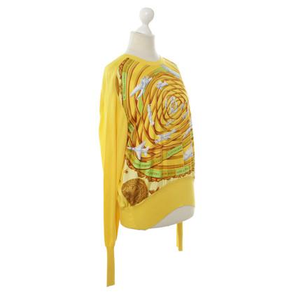 Hermès Maglioni in giallo