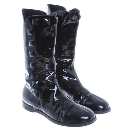 Jimmy Choo Lined boots patent leather
