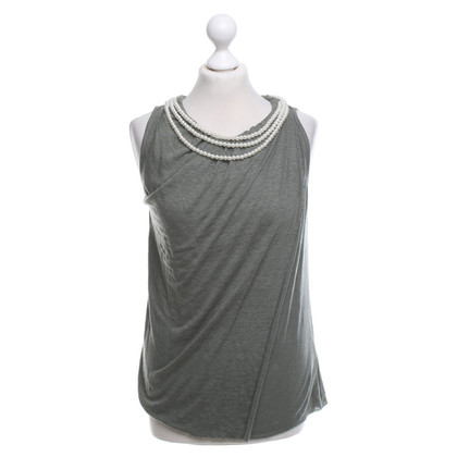 Allude top in green