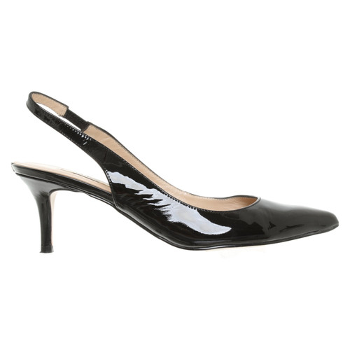 quality design best website new concept Guess Pumps/Peeptoes Patent leather in Black - Second Hand ...