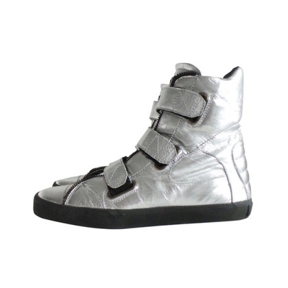 Karl Lagerfeld High-Top-trainer im Metallic Design