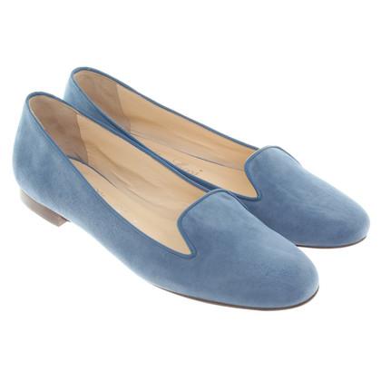 Autres marques SchoShoes - Slipper en bleu clair