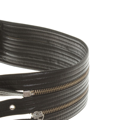 Plein Sud Leather waist belt