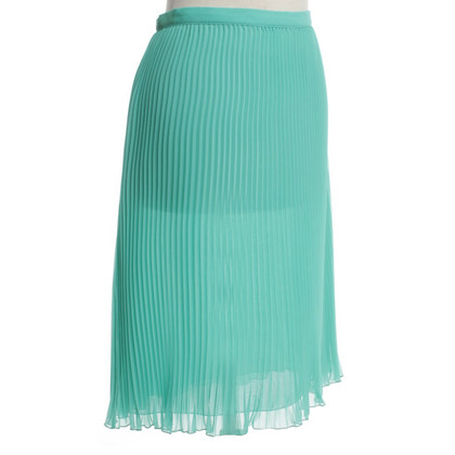 Versus Pleated skirt in turquoise