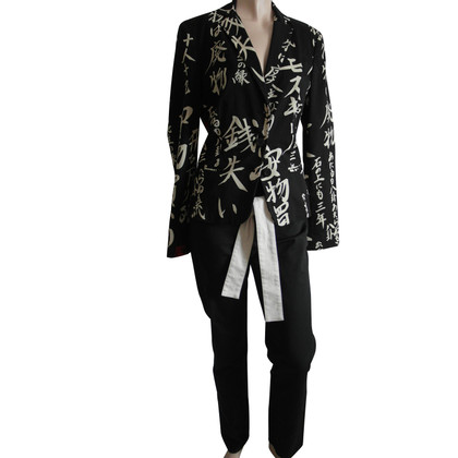 Moschino Giappone guardare blazer e pantaloni