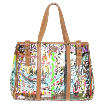 Prada Shopper with '' Venezia '' pattern