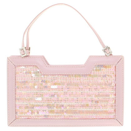 MCM clutch in rosa