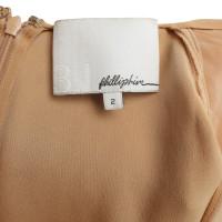 Phillip Lim Zijden blouse in Orange