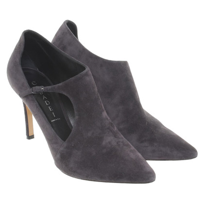Casadei Ankle boots with cut-outs