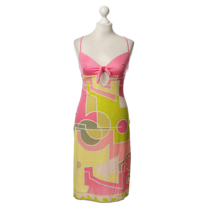 Emilio Pucci Silk dress in pastel