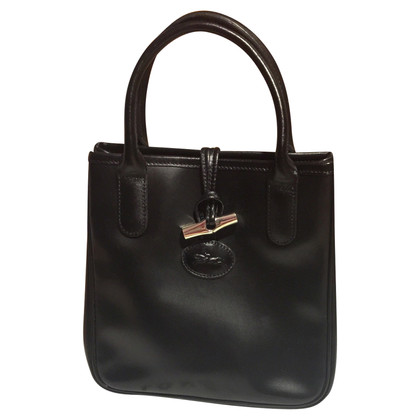 Longchamp Roseau Leather Mini Shopper