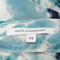 Faith Connexion Gonna lunga in seta con stampa