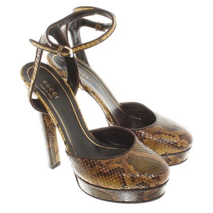 Gucci pumps slangenhuid