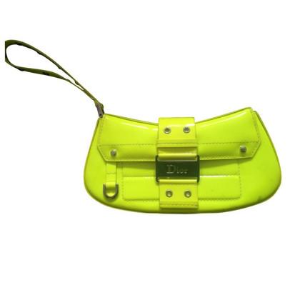 Christian Dior Neon clutch