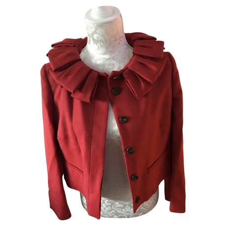 Red Valentino Rote Jacke Rot