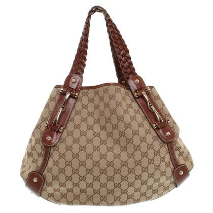 Gucci Pouch Bag Guccissima patronen