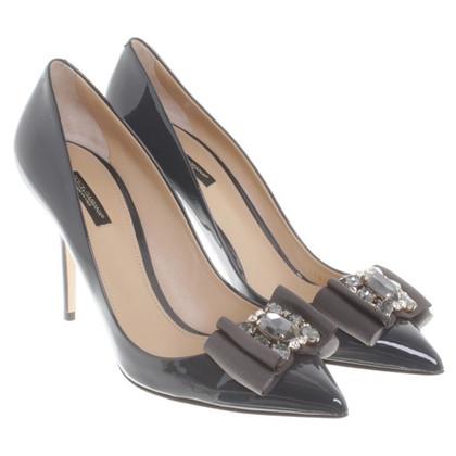 Dolce & Gabbana pumps in anthracite