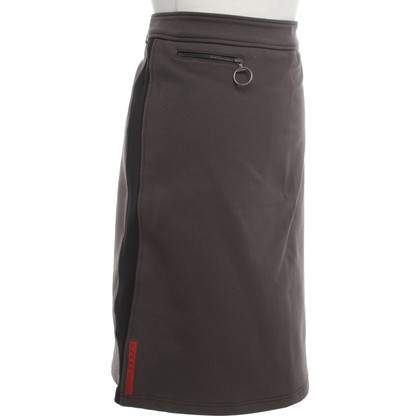 Prada skirt in brown / black