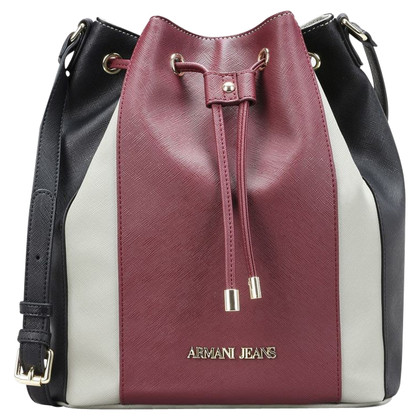 "Armani Jeans ""Bucket Bag"" in Tricolor"