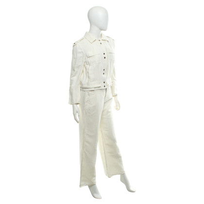 Gucci Suit made of linen and silk
