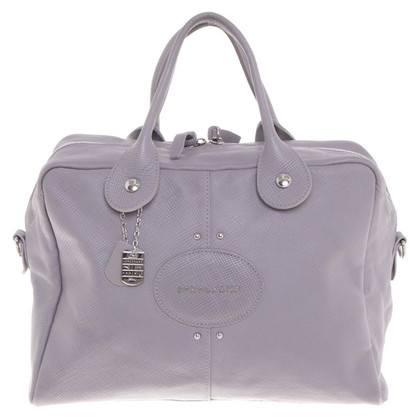 Longchamp Handtasche in Grau