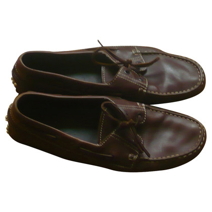 Tod's Tod's shoes brown leather size 41