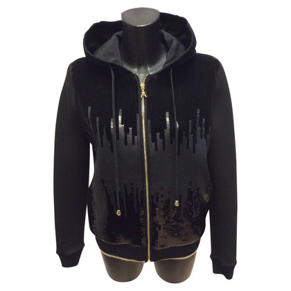 Patrizia Pepe Sweat jacket with sequins