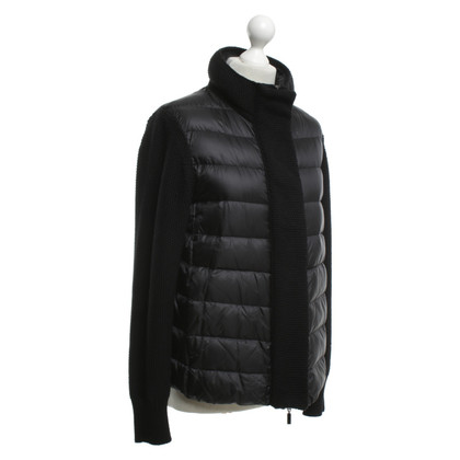 Moncler Down jacket with knit