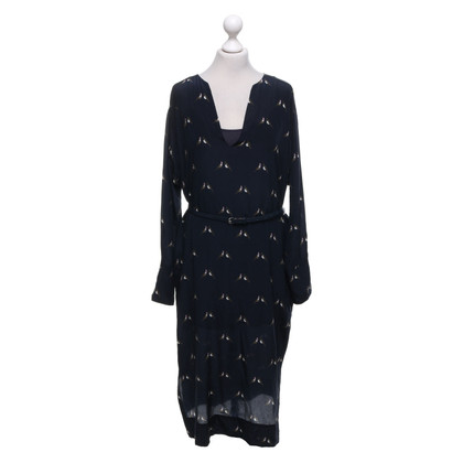 Turnover Kleid mit Muster