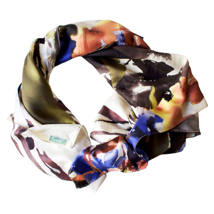 Hoss Intropia Watercolor silk scarf
