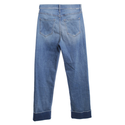 Mother Jeans highwaist in blu