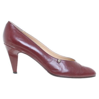 Aigner Leather pumps Red
