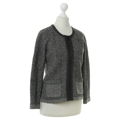 Rag & Bone Cardigan with leather piping